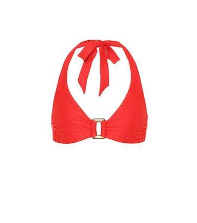 Santa Monica halter bikini top