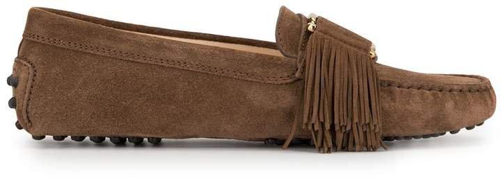Gommino fringe loafers