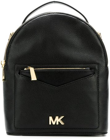 round zipped backpack