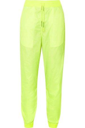 Off-White   Neon shell track pants   NET-A-PORTER.COM