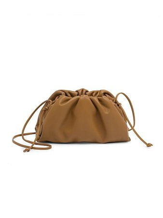 Bottega Veneta Mini The Pouch Leather Clutch | SaksFifthAvenue