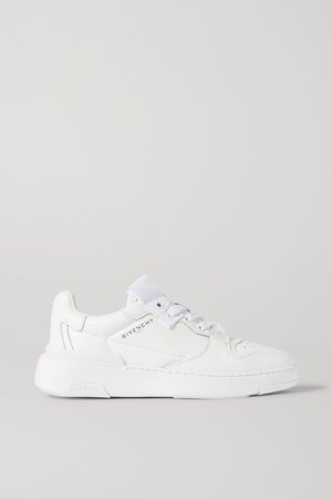 White Wing leather sneakers | Givenchy | NET-A-PORTER