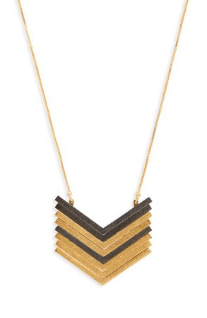 Madewell Arrowstack Necklace | Nordstrom