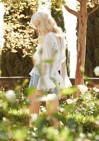 Garden Party: For Love & Lemons Spring 2016 Dresses Collection – NAWO