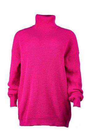 Capricornstudios Pink Sweater Dress