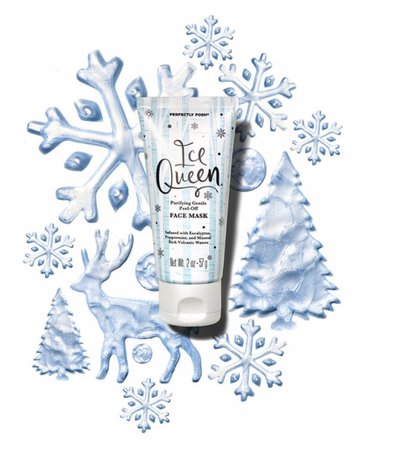 perfectly posh ice queen peel off mask