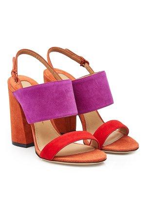 Elba Suede Sandals Gr. US 9.5