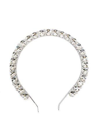 Alessandra Rich crystal-embellished Hairband - Farfetch
