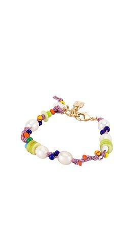 DANNIJO Mita Beaded Bracelet in Multi | REVOLVE
