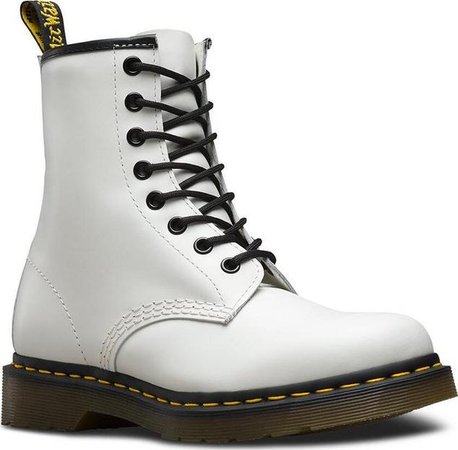Dr. Martens 1460 8 Eye Smooth Leather Boots - Unisex   Altitude Sports