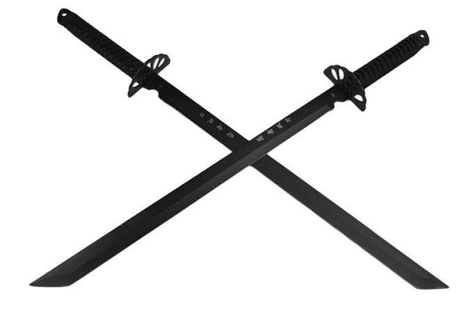 Samurai Twin Swords