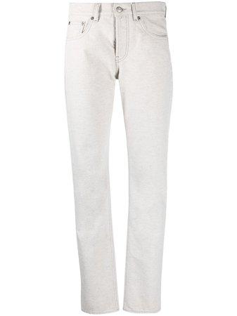 Shop Maison Margiela four-stitch straight-leg jeans with Express Delivery - Farfetch