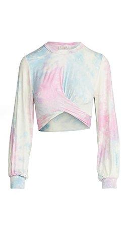 Beach Riot Marley Crop Sweatshirt tie-dye | SHOPBOP