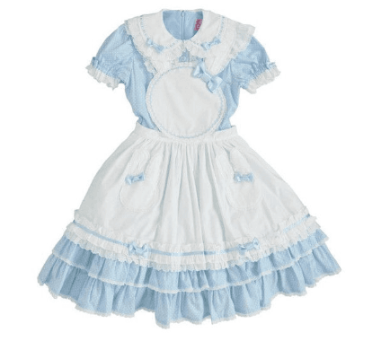 rabbit apron dress