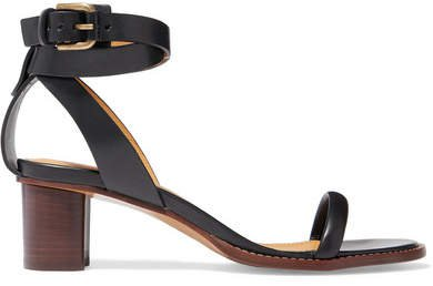 Jadler Leather Sandals - Black