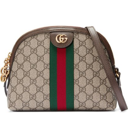 Gucci Canvas Shoulder Bag | Nordstrom