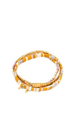 SHASHI Tilu Bracelet Set in Wyatt | REVOLVE
