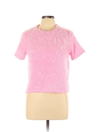 Trafaluc by Zara Color Block Pink Pullover Sweater Size L - 80% off | thredUP