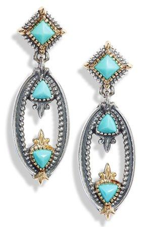 Konstantino Turquoise Oval Drop Earrings | Nordstrom