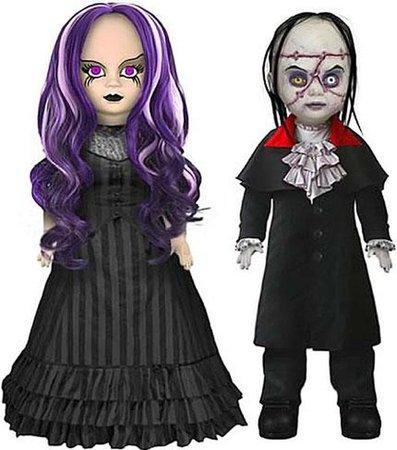 Living Dead Dolls Scary Tales Beauty and the Beast Dolls Mezco Toyz - ToyWiz