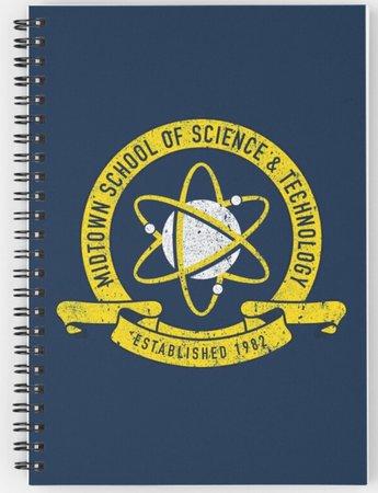 midtown school of science notebook/planner