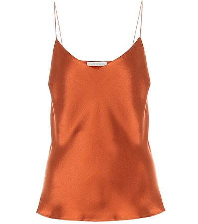 Asceno - Milos silk satin camisole | Mytheresa
