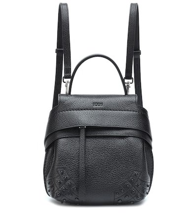 Wave Mini leather backpack