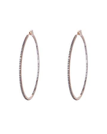 Nickho Rey | Evie Slim Hoop Earrings | INTERMIX®