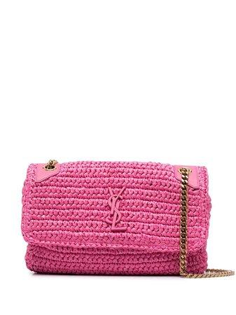 Saint Laurent Niki crochet shoulder bag - FARFETCH