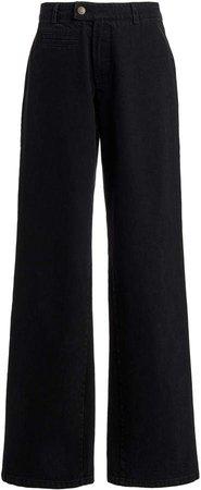 Zeynep Arcay Mid-Rise Straight-Leg Jeans