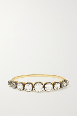 Fred Leighton | Collection sterling silver-topped 18-karat gold topaz bracelet | NET-A-PORTER.COM
