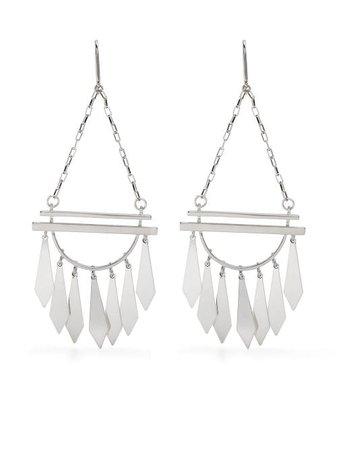 Isabel Marant multi-charm Drop Earrings - Farfetch