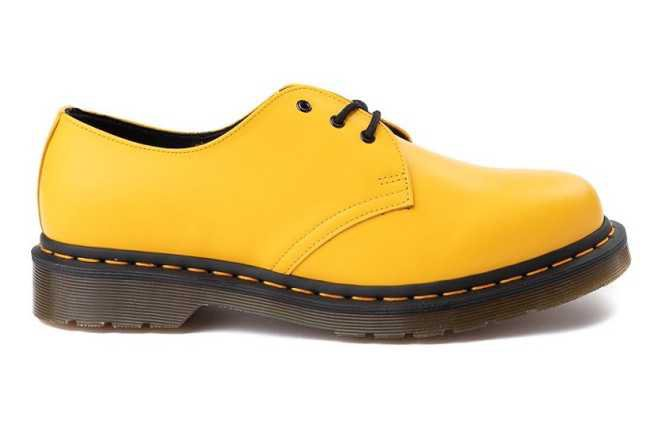 yellow dr. martens