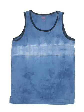 Mossimo Supply Co. 100% Cotton Tie Dye Navy Blue Tank Top Size X-Large (Youth) - 50% off   thredUP