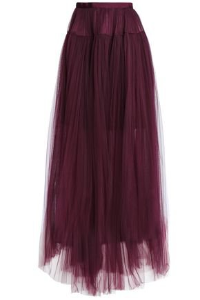 Bow-detailed ruffled tulle maxi skirt   JENNY PACKHAM   Sale up to 70% off   THE OUTNET