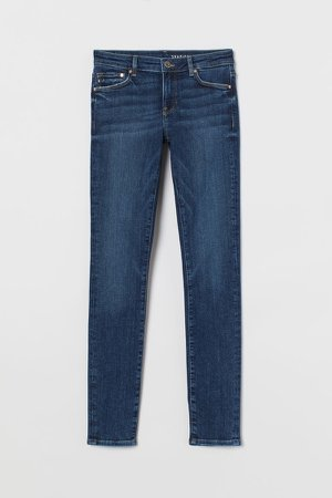 Shaping Low Jeans - Blue