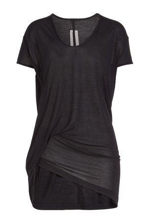 Hiked T-Shirt with Silk Gr. IT 38