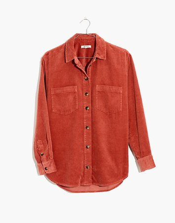 Corduroy Sunday Shirt