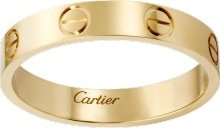 CRB4085000 - LOVE wedding band - Yellow gold - Cartier