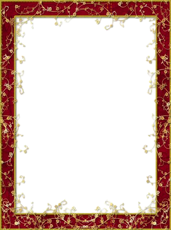 Red Flower Frame PNG Image Vector, Clipart, PSD - peoplepng.com