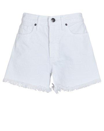 FRAME Le Simone Denim Cut-Off Shorts | INTERMIX®