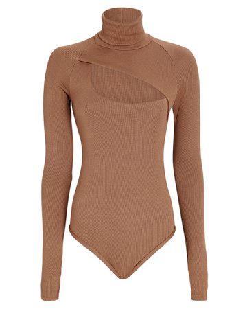 ALIX NYC Carder Turtleneck Jersey Bodysuit   INTERMIX®