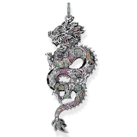 chinese dragon necklace