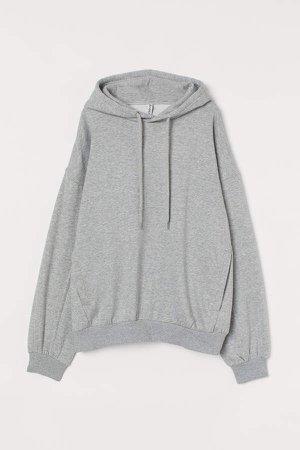 Oversized Hoodie - Gray