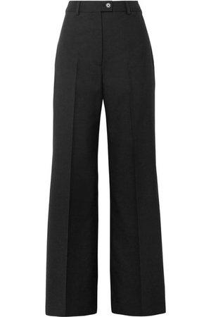 Acne Studios   Modern wool wide-leg pants   NET-A-PORTER.COM