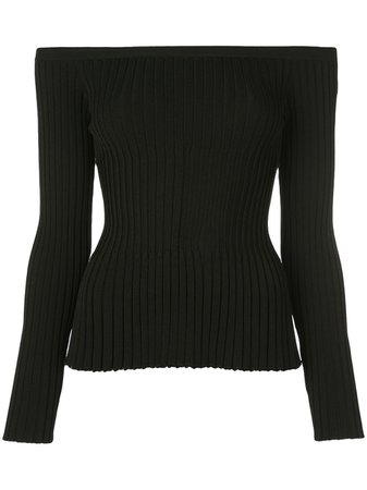 Altuzarra Streetwater Ribbed off-the-shoulder Top - Farfetch