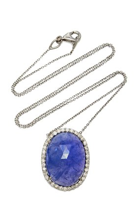 Amrapali Tanzanite and Diamond Pendant