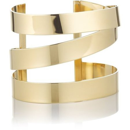 Gold Bracelet Cuff