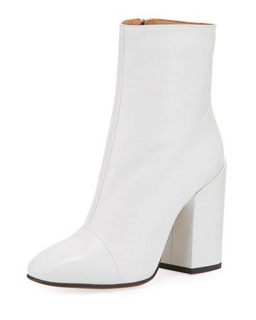 white boot heel