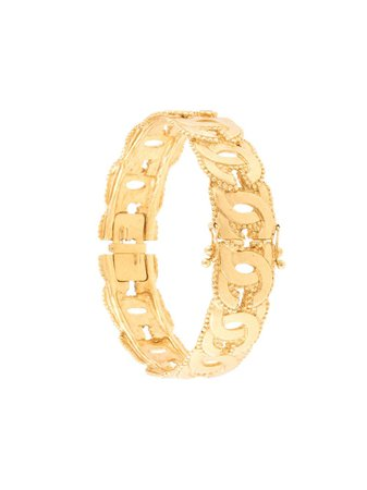 Chanel, cut-out CC bangle
